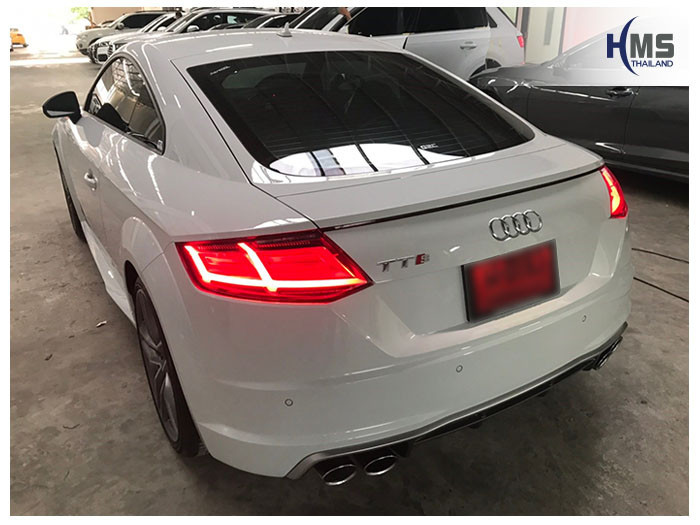 20180921 Audi TT back,ภาพท้ายรถ Audi TT