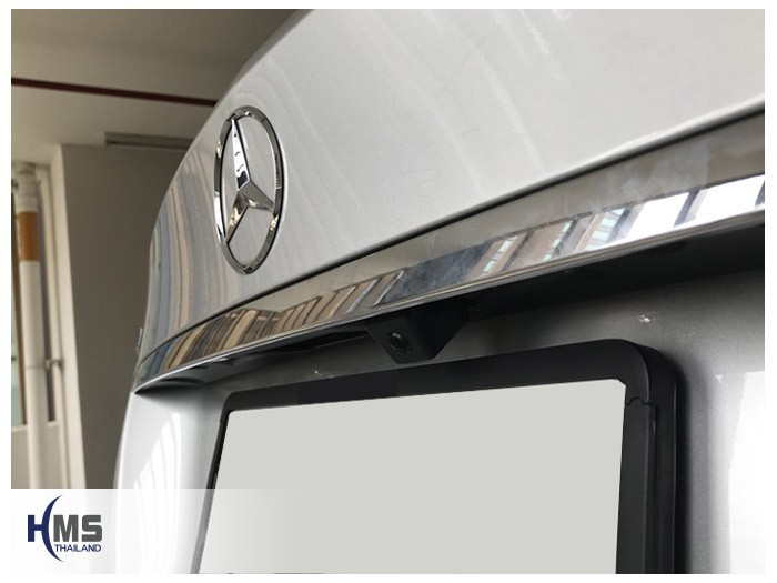 20180815 Mercedes Benz C200_W204_rear camera,Rear camera,จอถอยหลัง,กล้องมองหลัง,กล้องถอยหลัง,หมุนตามพวงมาลัย,PAS,Park assistant system