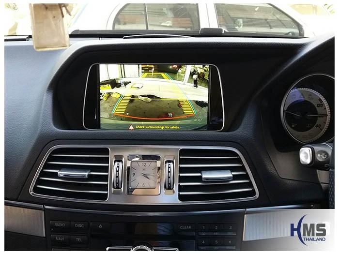 20170621 Mercedes Benz E200 Coupe_W204_Rear camera_view