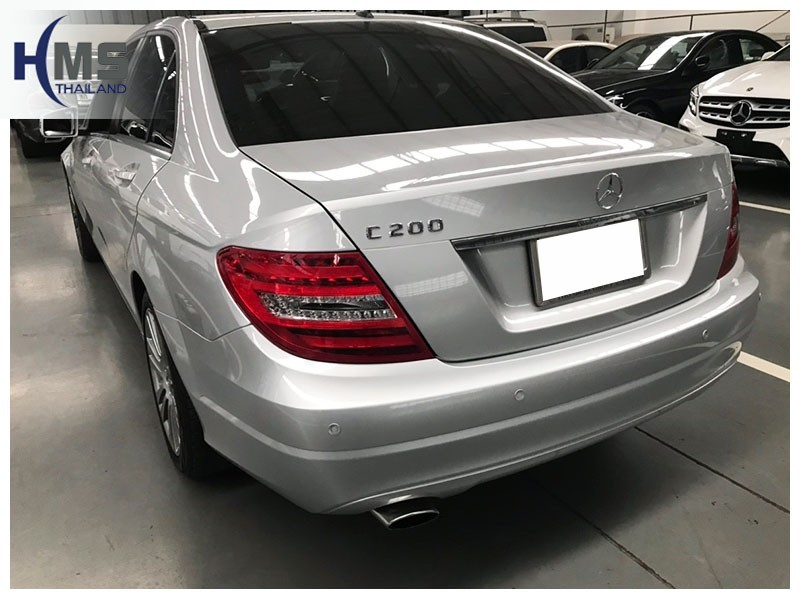 20181213 Mercedes Benz C200 W205 Back
