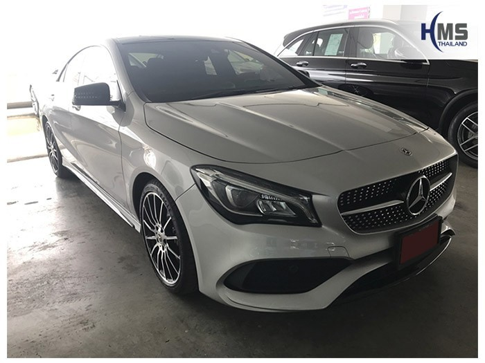 20180824 Mercedes Benz CLA250_C117_front,ติดตั้งรถ Mercedes Benz CLA250 C117 โดยทีมงาน HMS Thailand