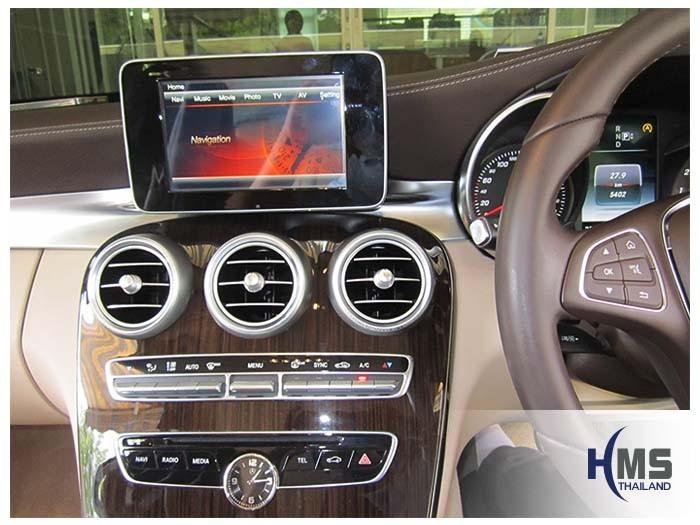 20150420 Mercedes Benz C180 W205_navigation box_TC5000_menu