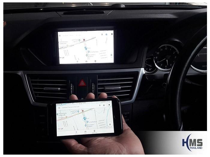 20180814 Mercedes Benz E200_W212_Wifi box_Navigation