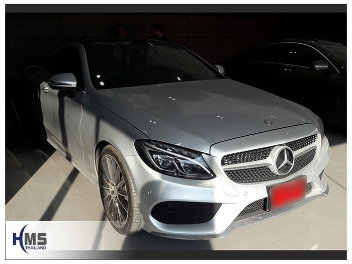 20180516 Mercedes Benz C250_Coupe_W205_front