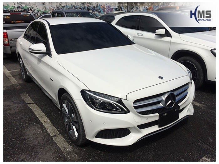 20180828 Mercedes Benz C350e_W205_front,ติดกล้องหน้ารถ Mio MiVue 792 บน Mercedes benz C350e W205