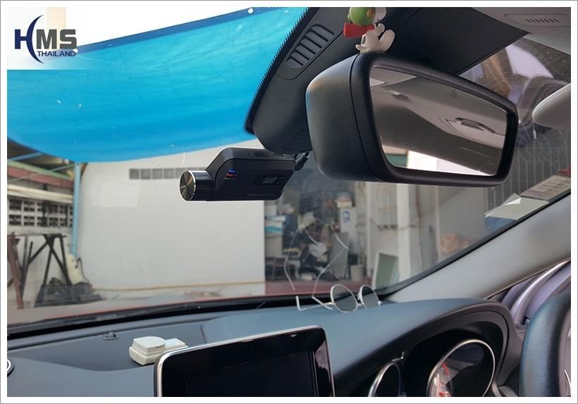20180205 Mercedes Benz GLA200_W156_DVR_Thinkware_F800_front