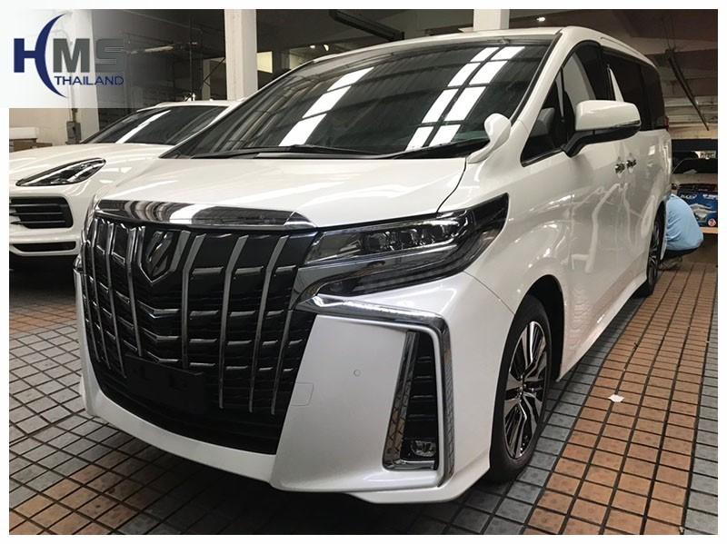 20181211 Toyota Alphard,ติดอุปกรณ์บน Toyota Alphard โดย HMS Thailand