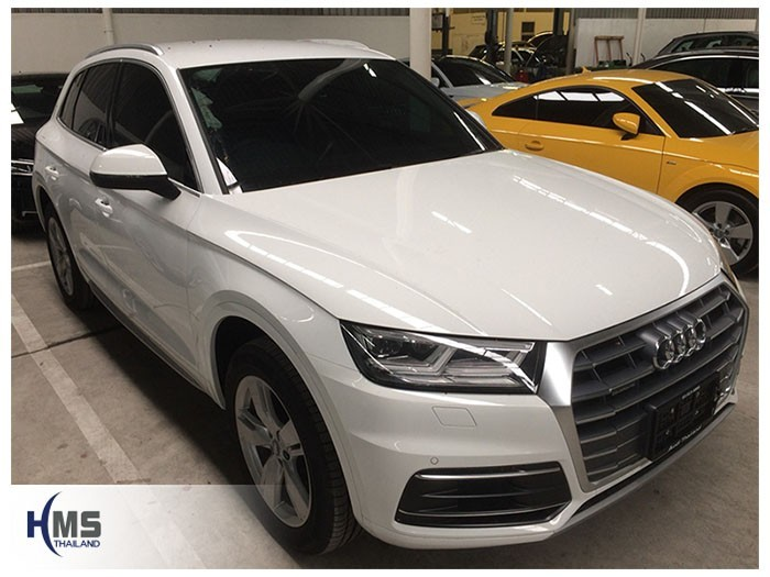 20180820 Audi Q5 front,ติดกล้องมองหลังบนรถ Audi Q5