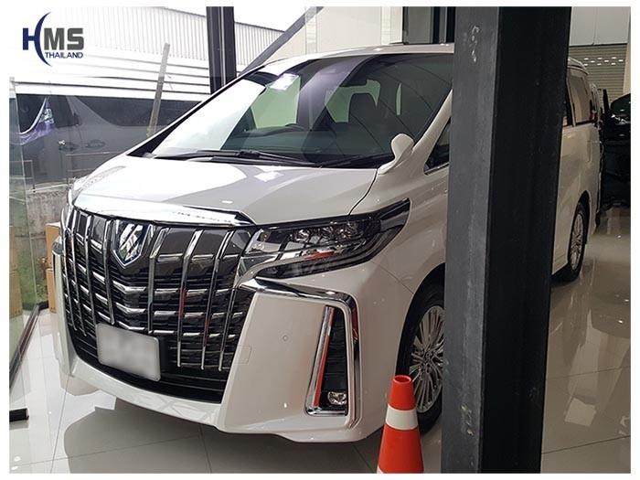 20180523 Toyota Alphard_front