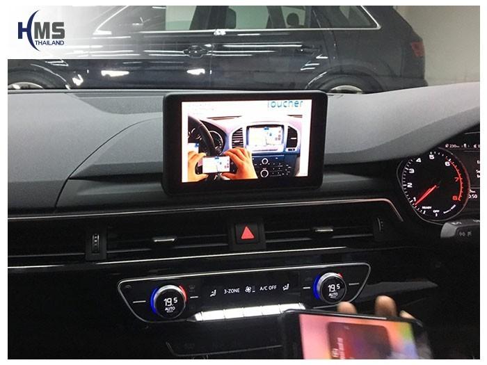 20190503 Audi A4 Wifi box main menu,ภาพหน้าจอหลักของกล่อง Car Wifi