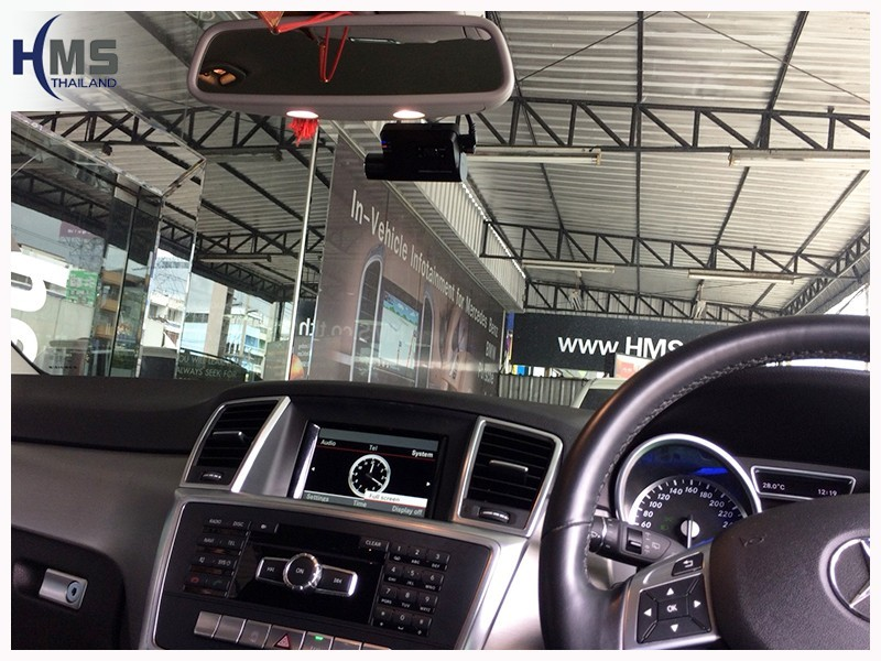 20180719 Mercedes Benz ML250 W166 กล้องติดรถยนต์ Thinkware F800 Pro