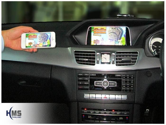 20150703 Mercedes Benz E300 W212_DVR_Lukas_LK7950_Mirror Link