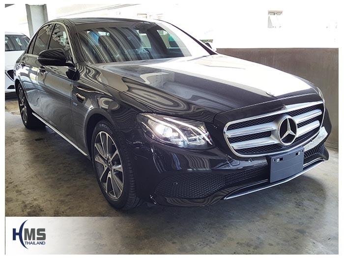 20180525 Mercedes Benz E350e_W213_front,ติดตั้งรถ Mercedes Benz E350e โดย HMS Thailand