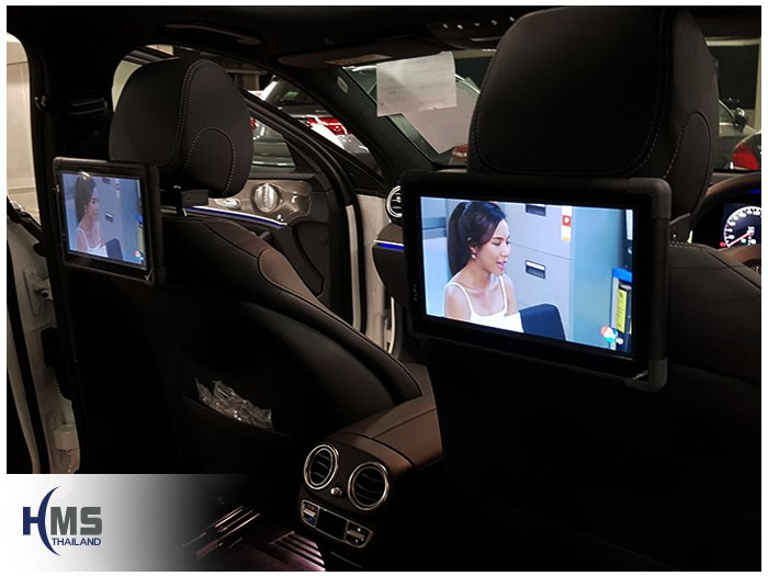 20170823 Mercedes Benz E350e_W213_TV Digital_ASUKA_HR600_Rear Monitor