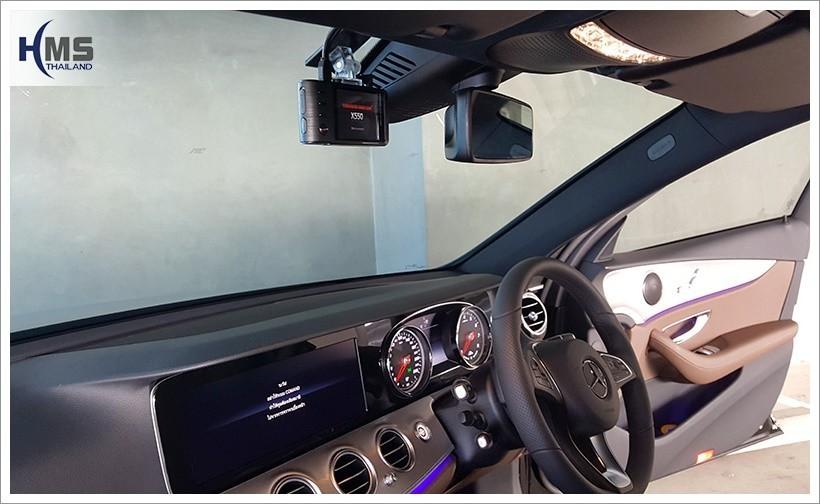 20180207 Mercedes Benz E350e_W213_DVR_Thinkware_X550