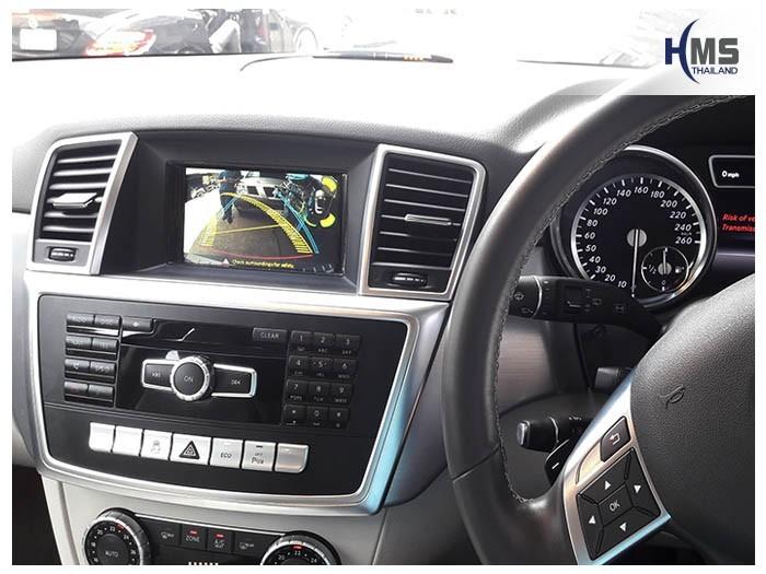 20180804 Mercedes Benz ML250_W116_Rear camera_view,Rear camera,จอถอยหลัง,กล้องมองหลัง,กล้องถอยหลัง,หมุนตามพวงมาลัย,PAS,Park assistant system