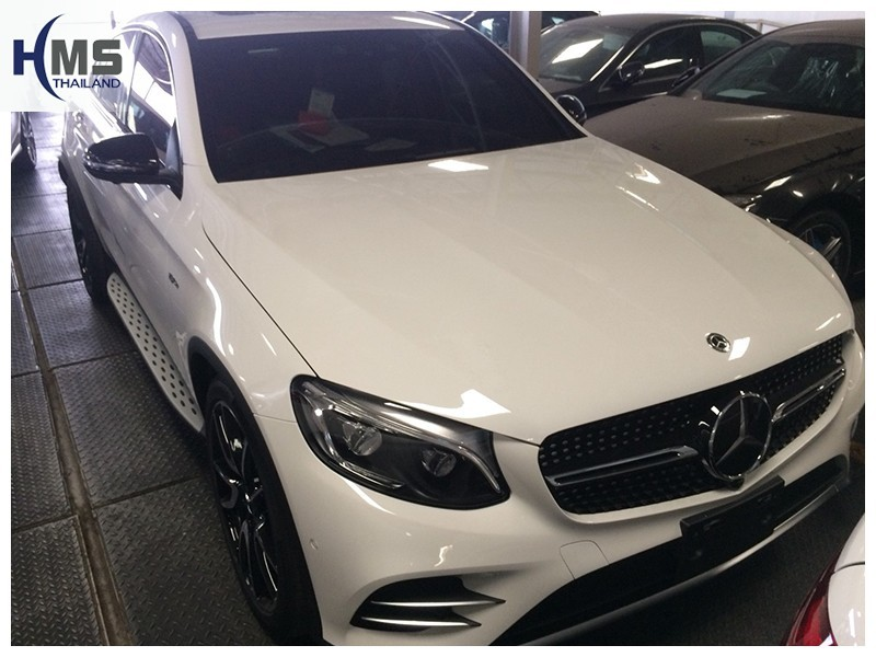 20181009 Mercedes Benz GLC43 W253_front,ติดกล้องติดรถยนต์รถ Mercedes Benz GLC43 โดย HMS Thailand