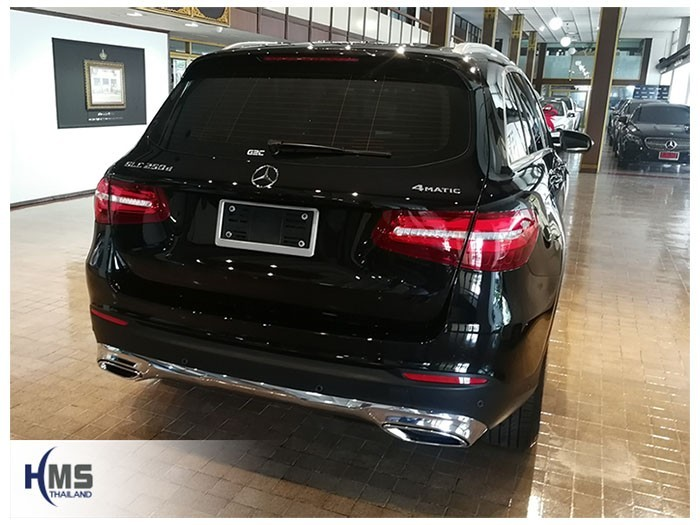 20180831 Mercedes Benz GLC250d_W253_back,ภาพท้ายรถ Mercedes Benz GLC250d W253