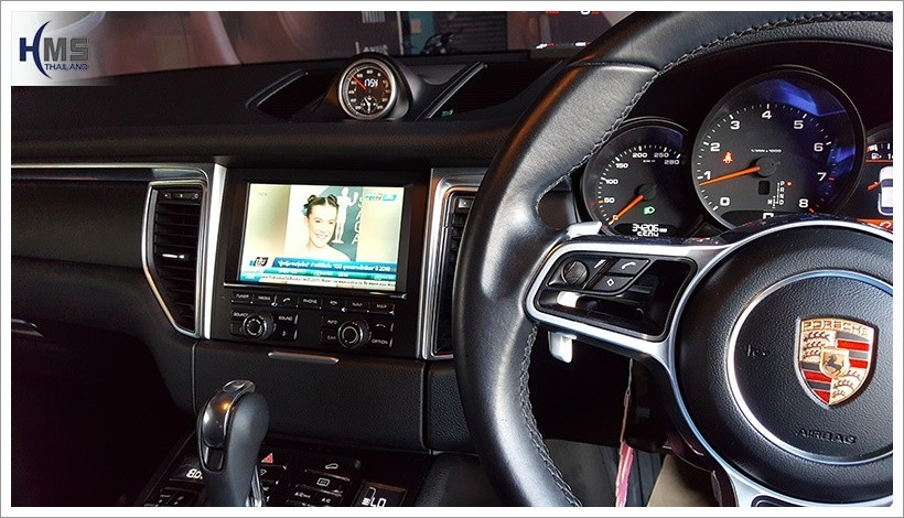 20180420 Porsche Macan PCM3.1 ทีวีดิจิตอล TV Digital ASUKA HR600