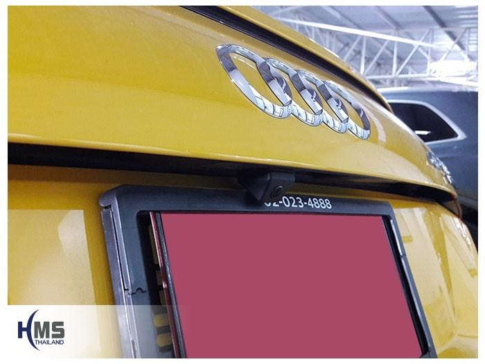 20180815 Audi TT rear camera,,Rear camera,จอถอยหลัง,กล้องมองหลัง,กล้องถอยหลัง,หมุนตามพวงมาลัย,PAS,Park assistant system