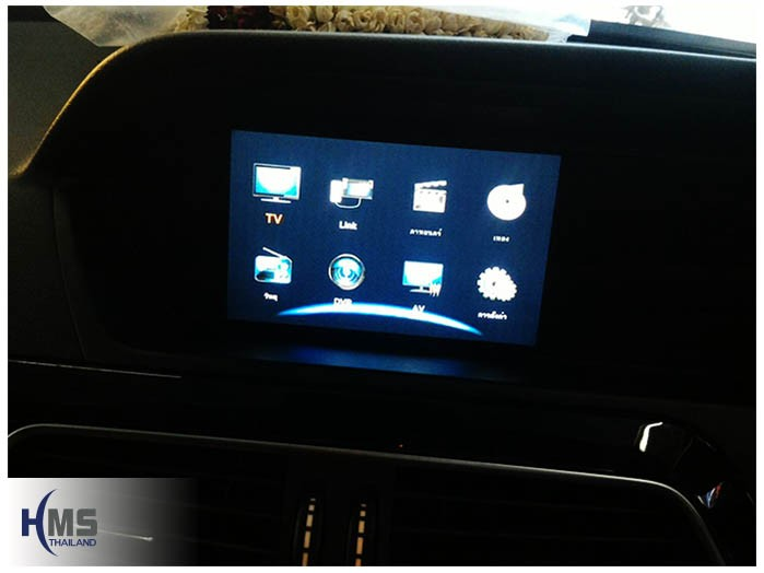 20161206 Benz C250 W204_Digital TV AZUKA Main menu
