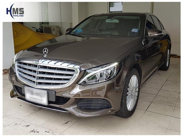 20180614 Mercedes Benz C180_W205_front,ติดตั้งอุปกรณ์รถ Mercedes Benz C180,
