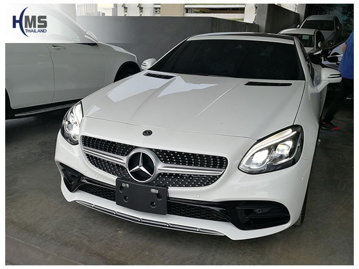 20180620 Mercedes Benz SLC300_R173_front,ติดกล้องติดรถยนต์ บน Mercedes Benz SLC300