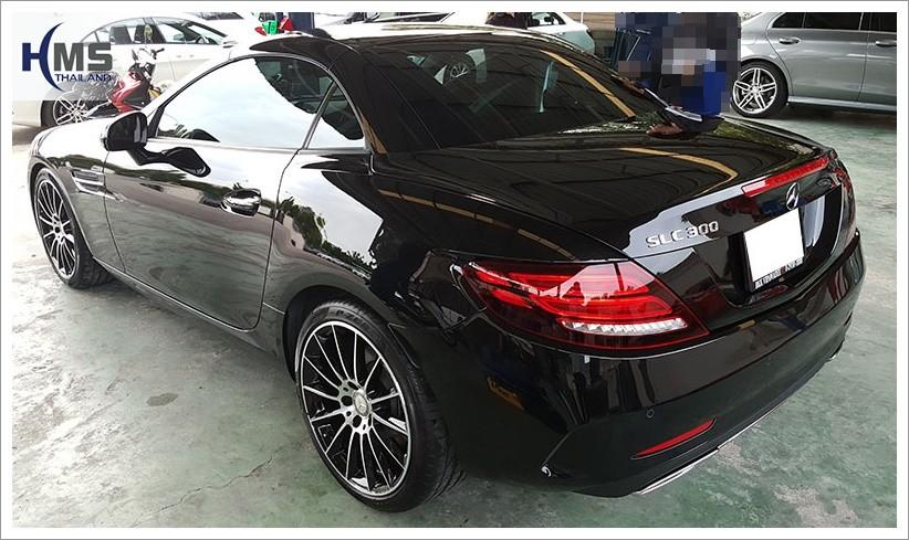 Mercedes Benz SLC300_R172_back