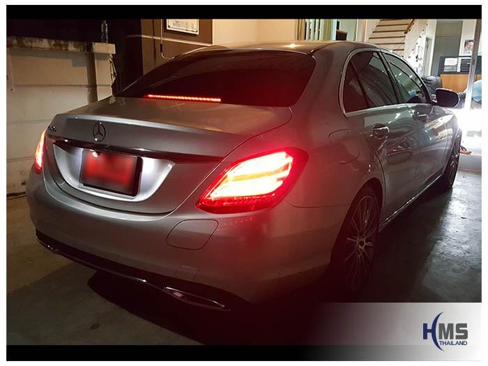20170628 Mercedes Benz C350e W205_back