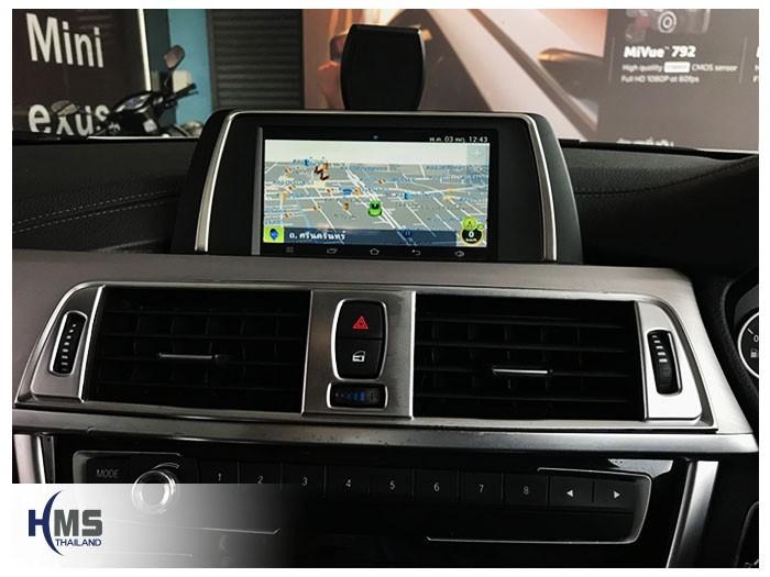 20180510 BMW 330d_f30_Navigation box_Andi_Navigation_Hood_dude