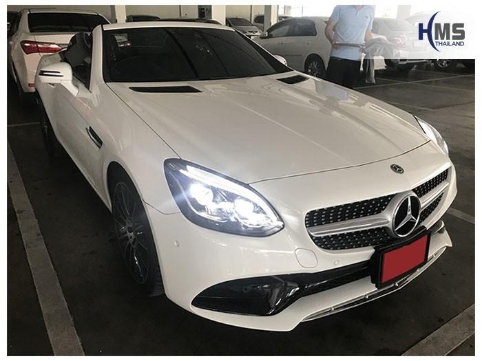 20180821 Mercedes Benz SLC300 R173_front,ติดกล้องติดรถยนต์บนรถ Mercedes Benz SLC300