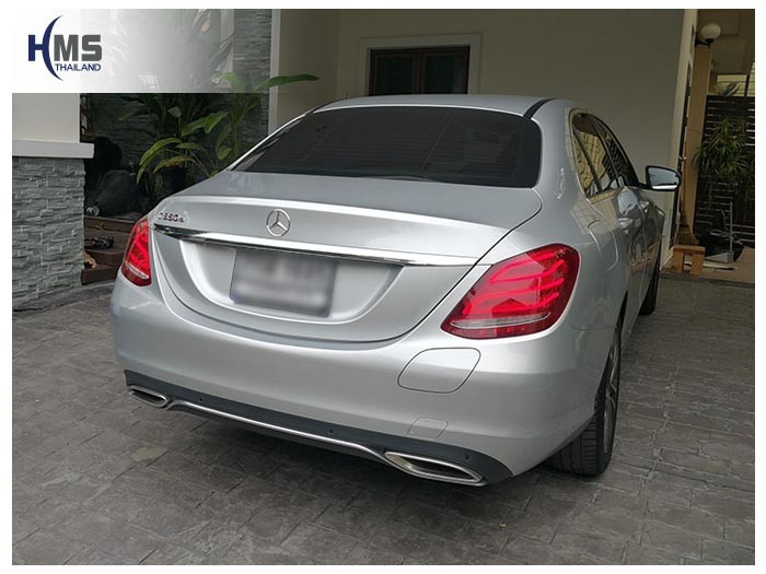 20180626 Mercedes Benz C350e_W205_back,Benz, Mercedes ,เบนซ์ ,เมอร์เซเดส, ซาลูน,ราคาเบนซ์,facelift ,Brabus ,AMG ,Bluetec ,Hybrid,ไฮบริด