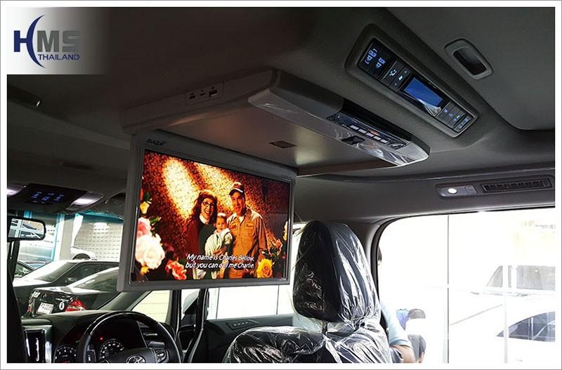 20160720 Toyota Alphard_Roof monitor_Zulex_View