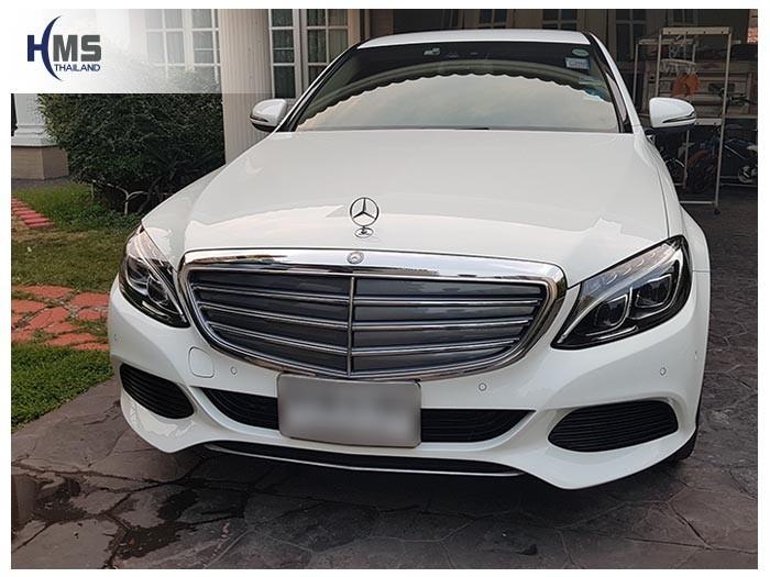 20180122 Mercedes Benz C350e_W205_front
