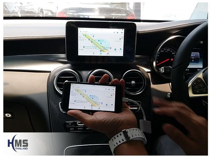20180619 Mercedes Benz GLC250d_W253_TV Digital_ASUKA_HR630_iPhone AV Adaptor_Navigation,ทีวีติดรถยนต์,ติดรถยนต์ ,ทีวีในรถ ,ทีวีรถยนต์, ทีวีติดรถ ,ทีวีดิจิตอลรถยนต์ , tv ในรถยนต์ , tv tuner รถยนต์ ,ดิจิตอลทีวีในรถยนต์, tv digital รถยนต์ , จูนเนอร์ทีวีติดรถยนต์