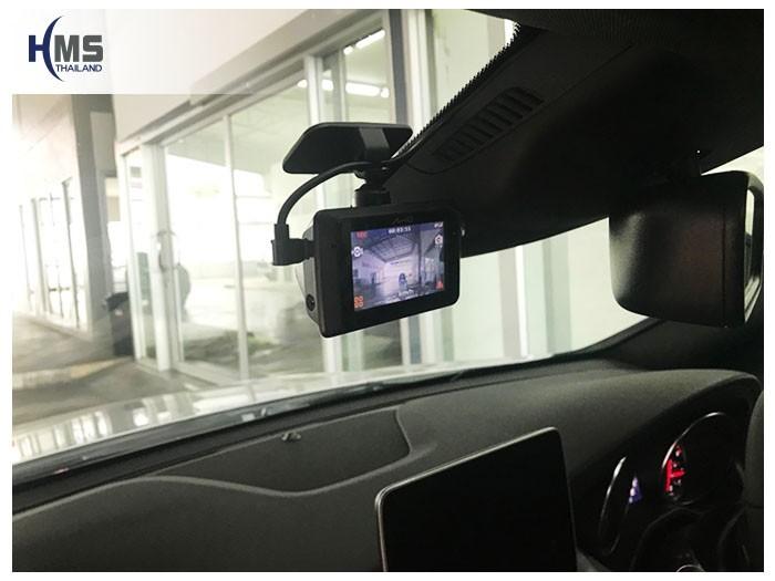 20180908 Mercedes Benz  CLA200_C117_DVR_Mio_MiVue_786_Wifi,กล้องติดรถยนต์ Mio MiVue 786 Wifi ติดตั้งหน้ารถ Mercedes Benz CLA200 C117