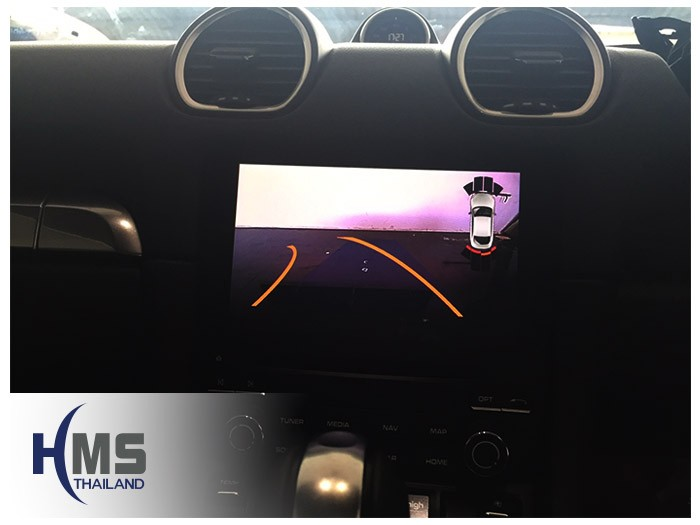 20170801 Porsche 718Cayman_Rear camera_view