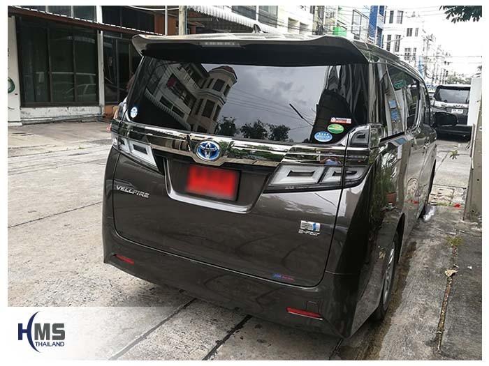 20180820 Toyota Vellfire_back,Alphard,รถตู้ VIP