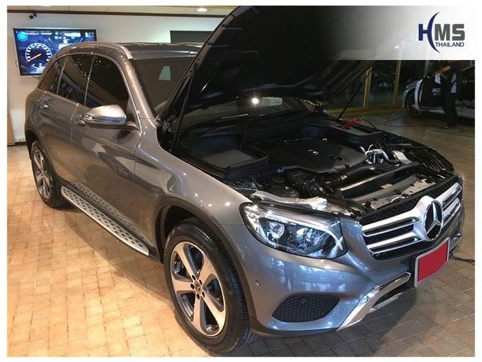 20180828 Mercedes Benz GLC250_Coupe_front,รถ Mercedes Benz GLC250d W253 ติดตั้งกล้องติดรถยนต์โดย HMS Thailand