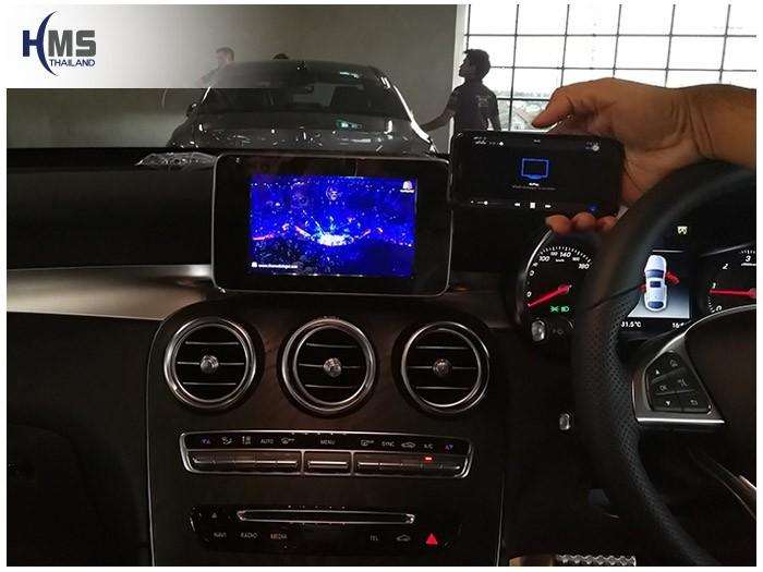 20171129 Mercedes Benz GLC250 Coupe_W253_Wifi box