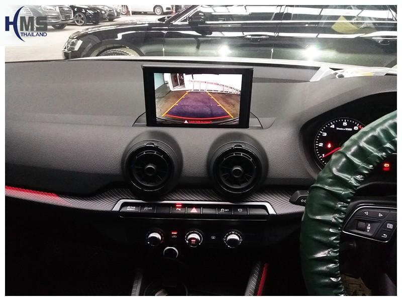 20181018 กล้องถอยหลัง Audi Q2,Rear camera,จอถอยหลัง,กล้องมองหลัง,กล้องถอยหลัง,หมุนตามพวงมาลัย,PAS,Park assistant system