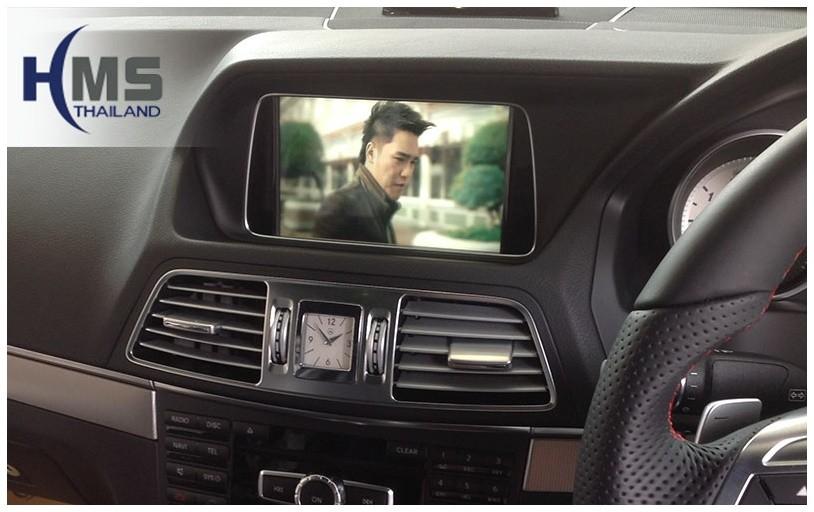 ทีวีจูนเนอร์,TV Tuner Benz,ติดทีวีจูนเนอร์ Benz, ติด TV Tuner E200