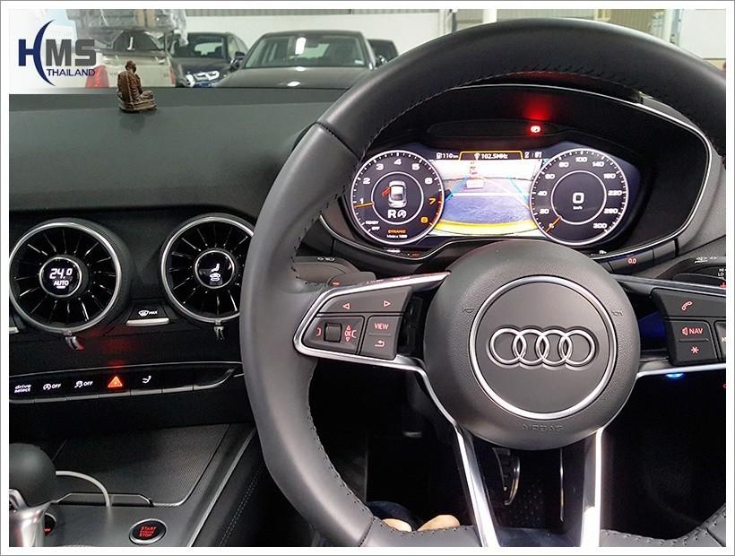 20180312 Audi TT กล้องถอยหลัง เส้นนำถอย