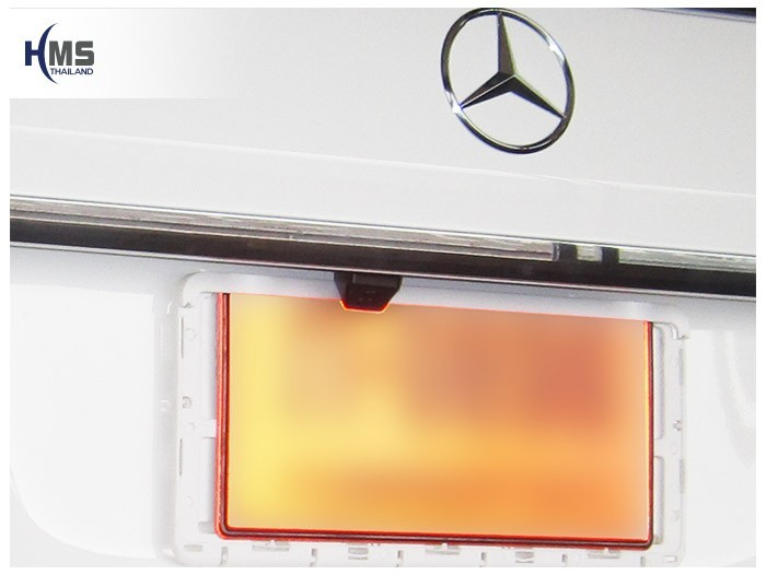 20150323 Mercedes Benz ML250 W116_Rear camera