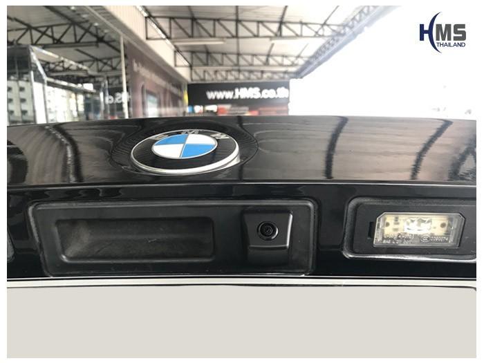 20180609 BMW 320d_F30_Rear camera,Rear camera,จอถอยหลัง,กล้องมองหลัง,กล้องถอยหลัง,หมุนตามพวงมาลัย,PAS,Park assistant system