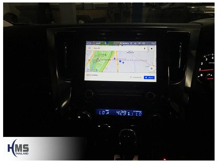 20180809 Toyota Alphard_KD9300_Navigation,Android,2DIN,gps, navigation, Speednavi, Map, Navigator, Automobiles, Motor show Bangkok ,Motor expo,