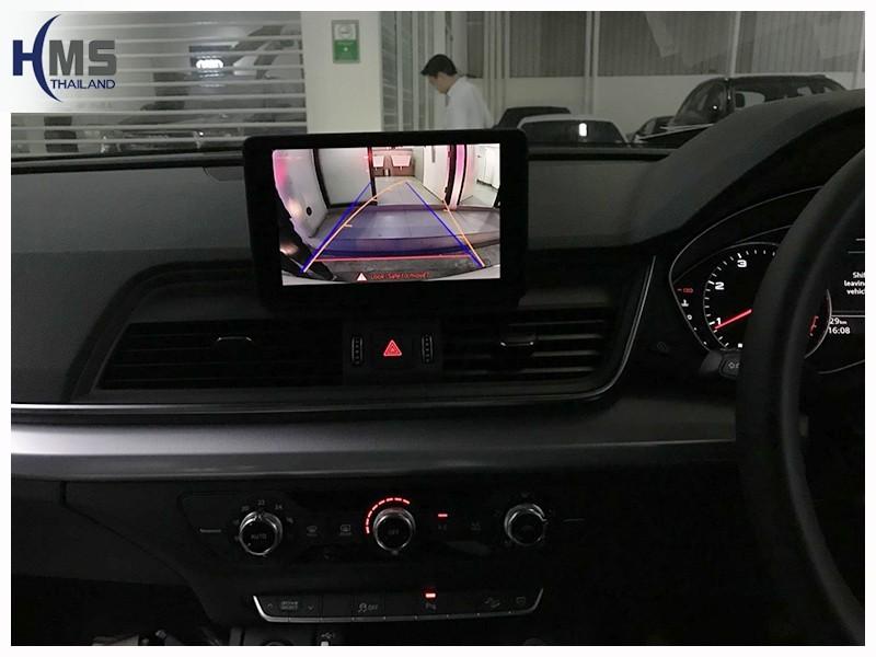 20180724 กล้องมองหลัง Audi, กล้องถอยหลัง Audi,Audi Q5_Rear camera_View,Rear camera,จอถอยหลัง,กล้องมองหลัง,กล้องถอยหลัง,หมุนตามพวงมาลัย,PAS,Park assistant system