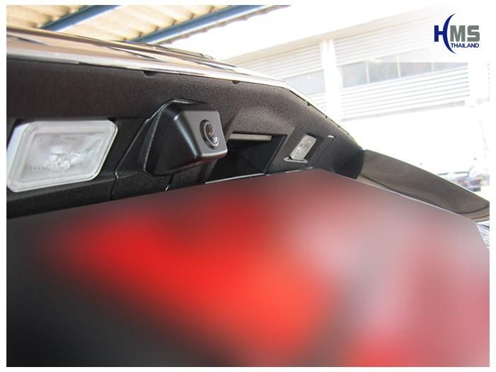 20150421 Mercedes Benz E200 W212_Rear camera