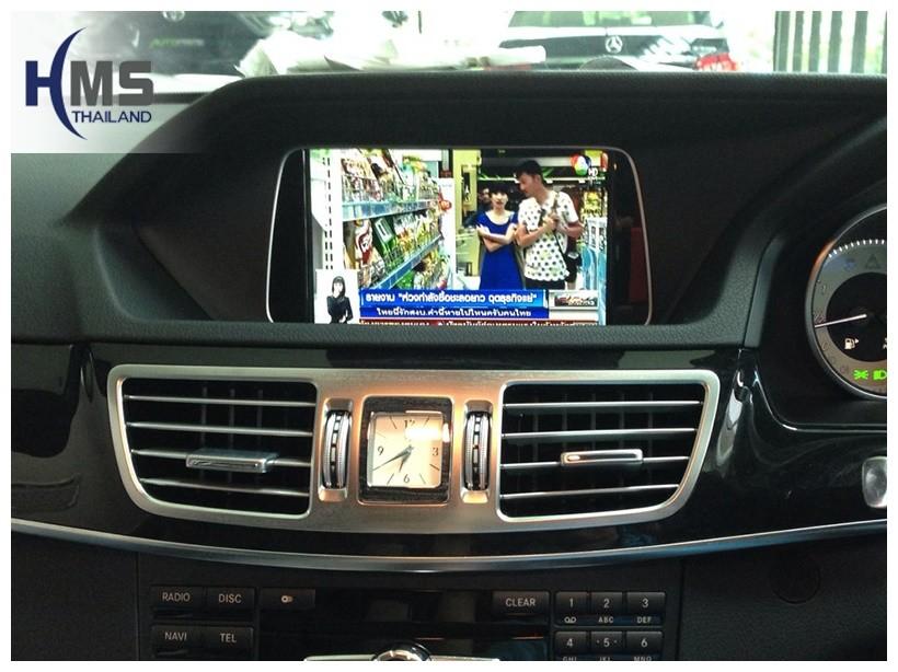 ทีวีจูนเนอร์,TV Tuner Benz,ติดทีวีจูนเนอร์ Benz, ติด TV Tuner E300