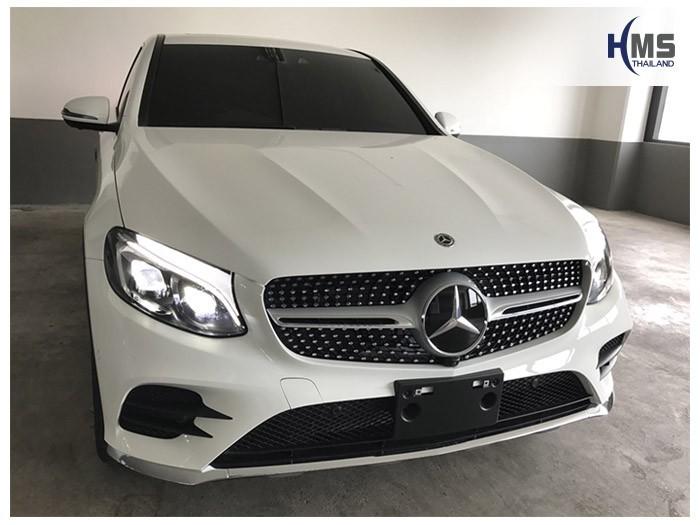20180814 Mercedes Benz GLC250_Coupe_front,ติดกล้องติดหน้ารถ Mio MiVue 792 บน Mercedes Benz GLC250 Coupe โดย HMS Thailand